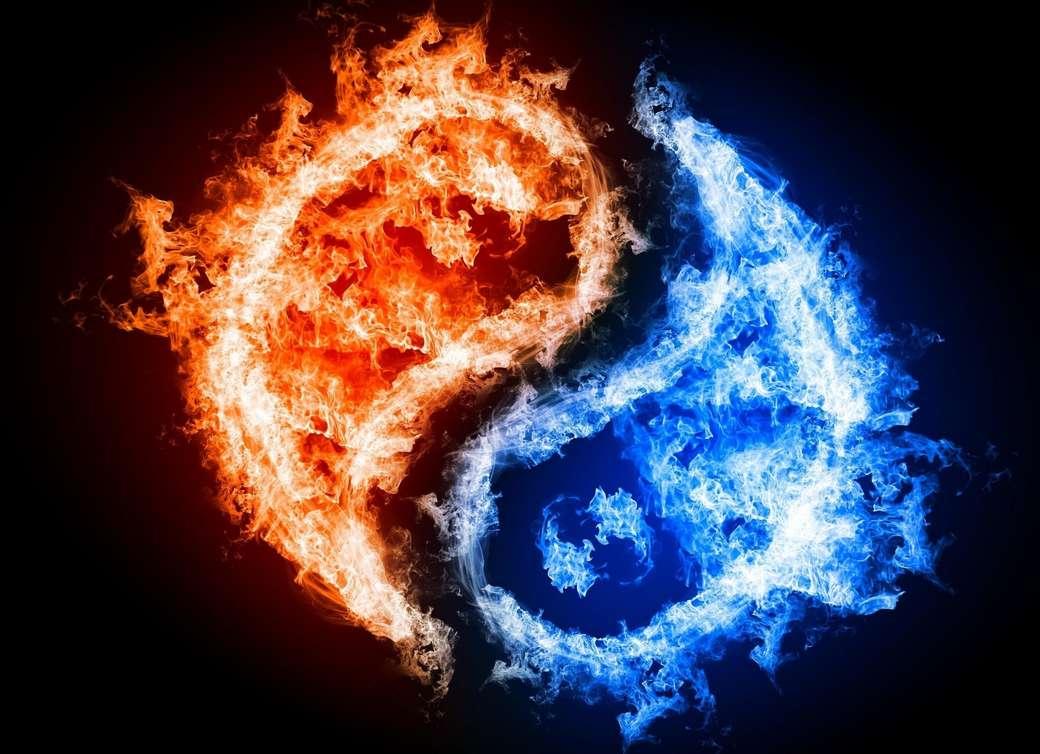a yin és yang tűz - A llig lalag. Legalább 50 karakter. A llig gyönyörű művészetnek nevezte (8×6)