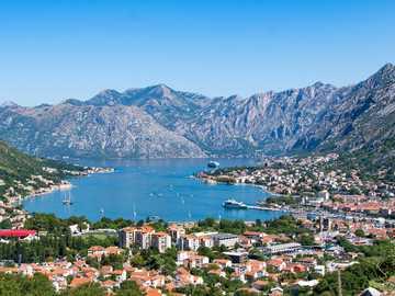 Montenegro - Panorama - Kotor bay