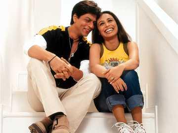 Rani y Shah Rukh - Rani y Shah Rukh en la sesión de fotos