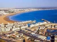 Agadir w Maroku - Agadir w Maroku-jedno z najpiękniejszych miast