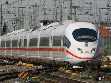Velaro Train - This Is A Photo Of A High Speed Train