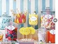 słodkie przyjęcie - słodkości i inne przyjemności