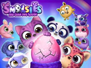 Smolsies- my cute pet house - Το αγαπημένο μου παιχνίδι