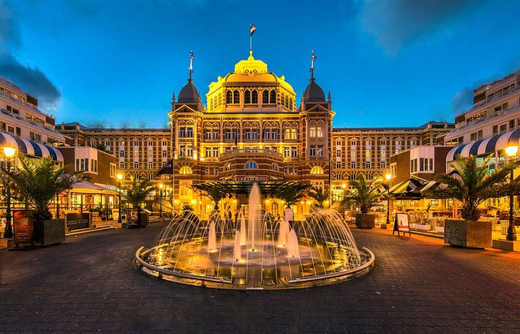 Scheveningen Resort Grand Hotel Amrath Kurhaus Den Lose Puzzlespiele Kostenlos Auf Puzzle Factory