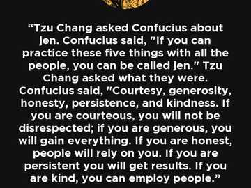 Concepto confuciano de jen - Cita atribuida a Confuscio sobre el concepto de jen
