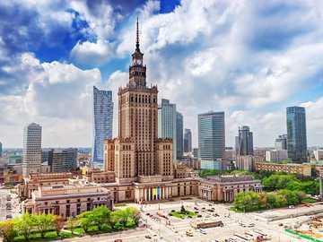 Varsovia es la capital - Varsovia, la capital: un palacio de la cultura
