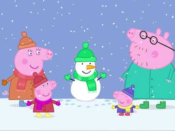 Christmas peppy pigs - I think everyone likes Christmas