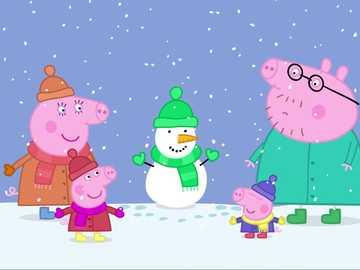 Cerditos navideños - Creo que a todos les gusta la Navidad