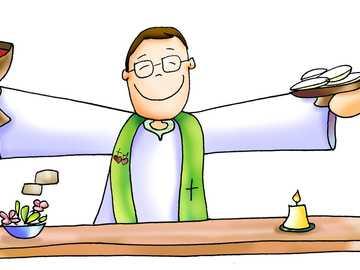 Eucharist - Have fun solving this Eucharistic puzzle!