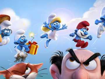 Στρουμφ  - Smurfs is a fairy tale for the youngest, but not only.