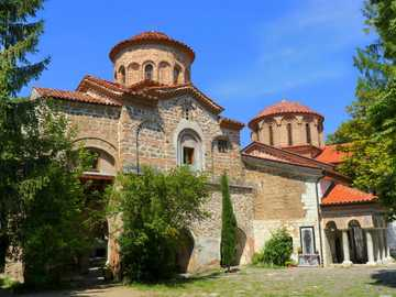 Orthodox church of the Baczkowski monastery - Byzantine religious building, church of Bojan and temple of St. John in Nesebar