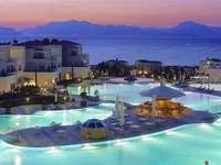 Ваканционен хотел в Гърция