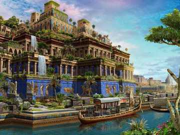 Grădinile agățate ale semiramului - Sunt încă nedescoperite - probabil au fost construite în Babilon