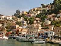Vacances grecques - Île grecque de Symi ------