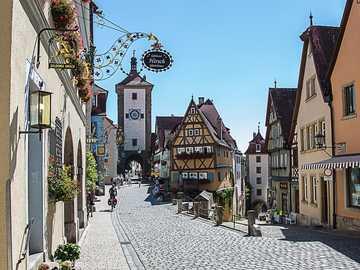 Rothenburg - pueblo medieval
