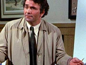 Columbo has no evidence again - Columbo has no evidence again. He plays with colored pencils