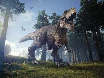 wielki tyranozaur - wielki tyranozaur ryczy