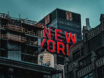 Oznakowanie w Nowym Jorku - Listy z Nowego Jorku. Nowy Jork, Stany Zjednoczone