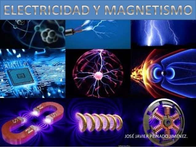 electromagnetism - Electricitatea și magnetismul sunt două fenomene fizice care interacționează împreună generatoare de câmpuri (9×7)
