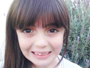 Einhorn - Es ist ein sehr schönes Bild eines großen Lächelns, das die Seele erleuchtet