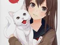 já a moje kočka - tak roztomilý, že? prostě ho miluji