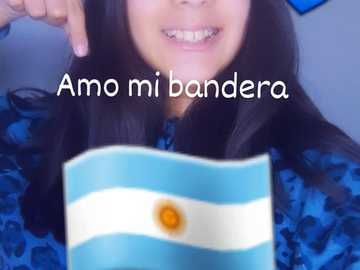 Happy Argentina Flag Day - My photo with the Argentine flag