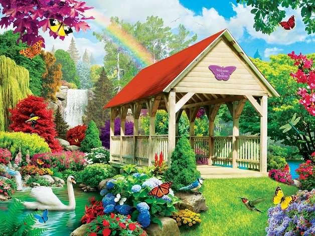 Puzzel voor kinderen - Kleurrijke puzzel voor kinderen (8×6)