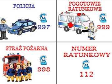 Numéros d'urgence - Organisez les puzzles et enregistrez les numéros d'urgence. Ils peuvent être utiles pendant l