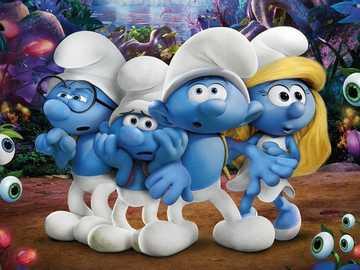 Στρουμφ  - The Smurfs movie - I recommend watching