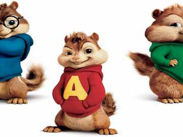 Alvin en de eekhoorns