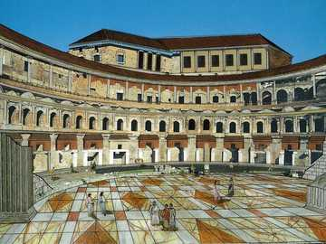 ROME PUZZLES - It is considered by many to be the first covered shopping center in the world and from an urban poin