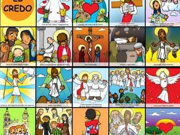 el credo de jesus - material para catequesis 2020