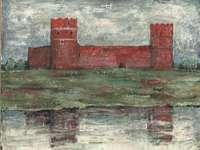 Kasteel van de Mazovische hertogen in Ciechanów - Maak de puzzel af met het middeleeuwse kasteel