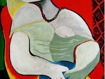 Sen - Sen to obraz hiszpańskiego malarza Pabla Picassa namalowany w 1932 roku. Styl kubistyczny.
