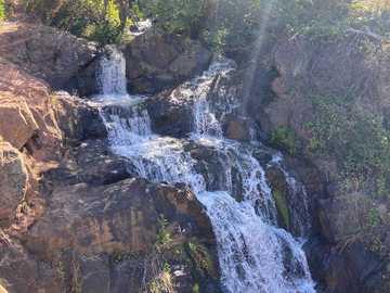 water fall in Reno Nev. - Beautiful water falls in the mountains above Reno NV