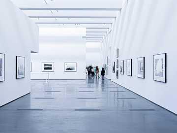 white building - White art gallery. Los Angeles, Kalifornija, Jungtinės Valstijos