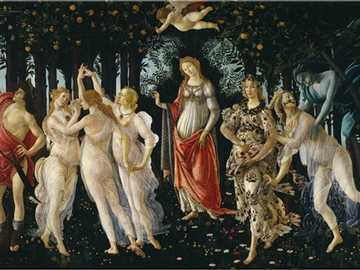 Spring - Allegory of Spring, better known simply as Spring, is one of the Italian Renaissance artist's m