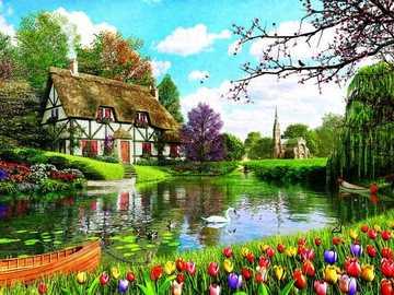 Uno splendido paesaggio. - Splendide vedute sul fiume.
