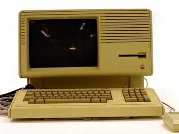 Apple Computer - Computersystem - Apple Lisa 2 (geändert auf Macintosh XL).