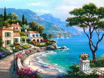 małe miasteczko na plaży - wspaniałe miasto na plaży