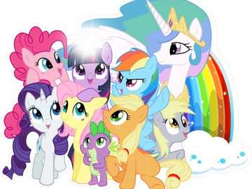 Il mio piccolo pony. - L'amicizia con il mio piccolo pony è magica.