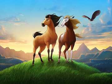 Mustang espíritu de libertad - Recomiendo ver esta pelicula