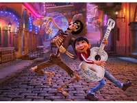 Coco movie - I recommend watching a movie.