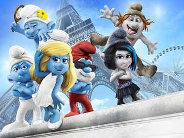 The Smurfs movie - I recommend watching this movie.