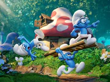 The Smurfs movie - I highly recommend this movie.