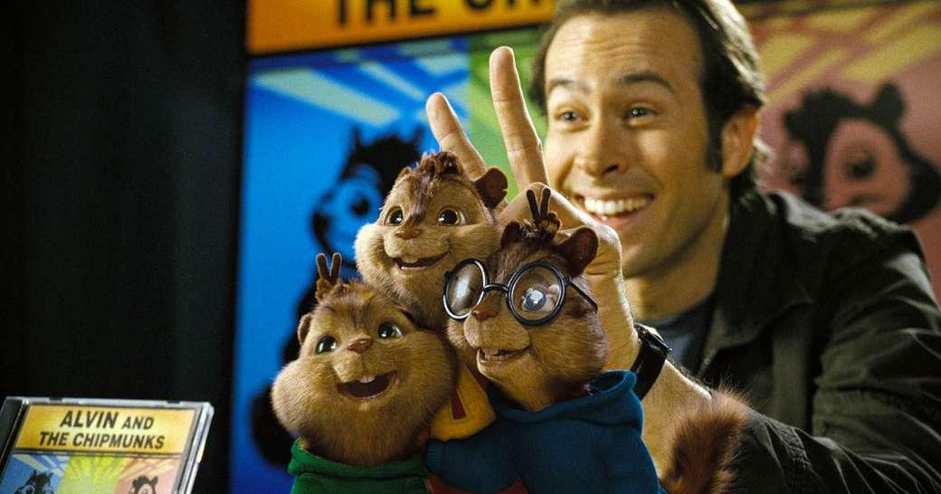 Alvin e os Esquilos - Eu recomendo este filme e o conto de fadas (8×4)