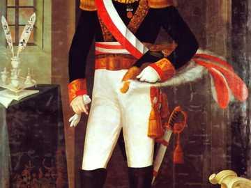 Odkryliśmy postać - Ta postać była peruwiańskim żołnierzem i politykiem.