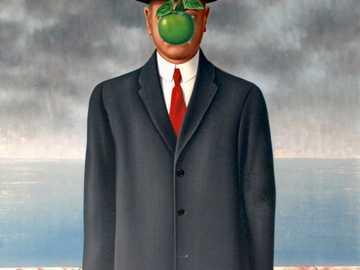 Syn człowieczy - 1964 obraz belgijskiego surrealistycznego malarza René Magritte'a i jego najbardziej znana pra