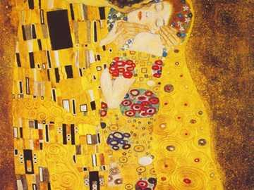 Pocałunek - Od austriackiego malarza Gustava Klimta i prawdopodobnie jego najbardziej znanego dzieła. Jest to o