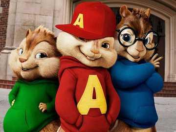 Alvin et les Chipmunks - Je recommande de regarder cette histoire.